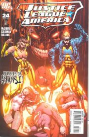 Justice League of America #24 (2008) DC comic book